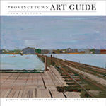 cover of 2016 Provincetown art guide - click to see full issue